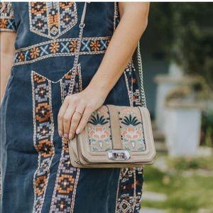 Rebecca Minkoff embroidered bag.